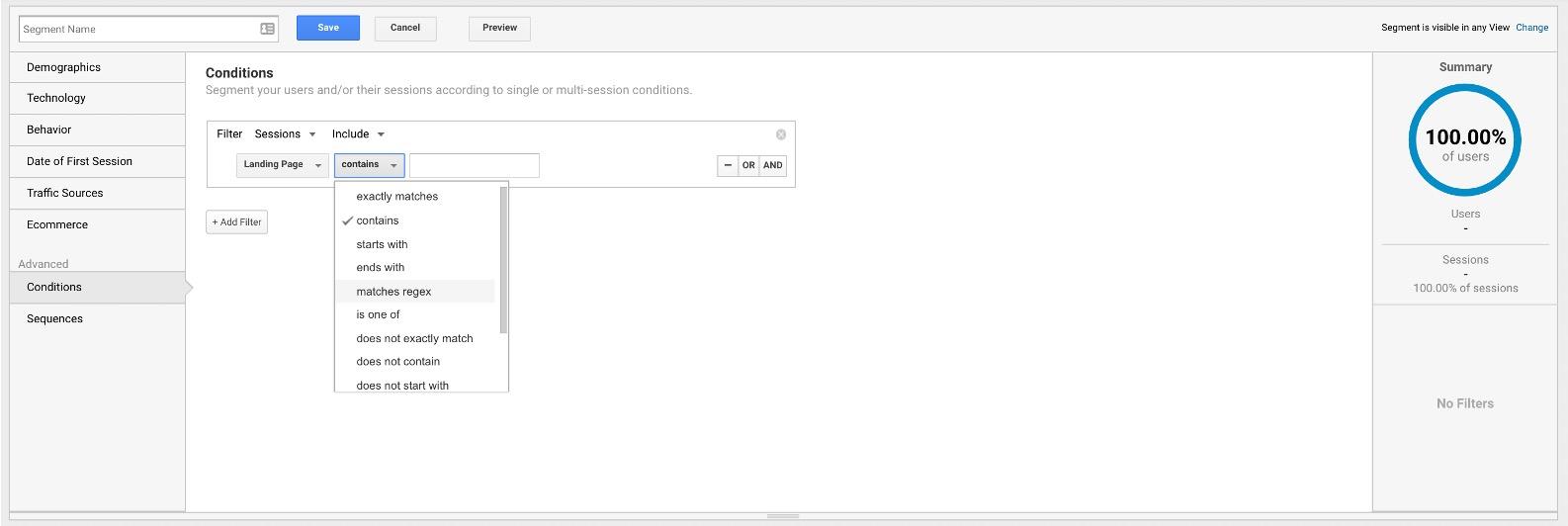 google-analytics-add-segment-conditions