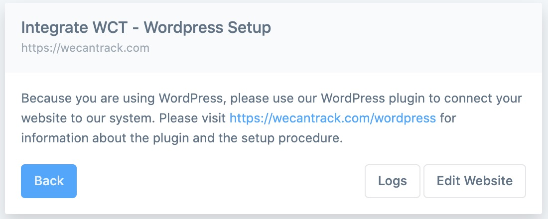 wordpress-website-connection