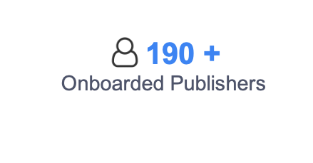 Onboarded Publishers