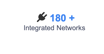 180+ Integrated Networks