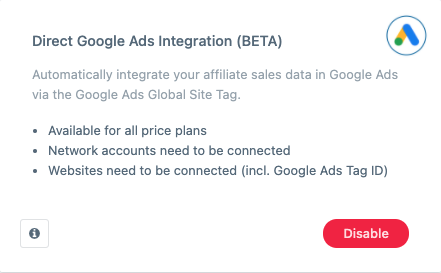 Affiliate Conversion Tracking in Google Ads