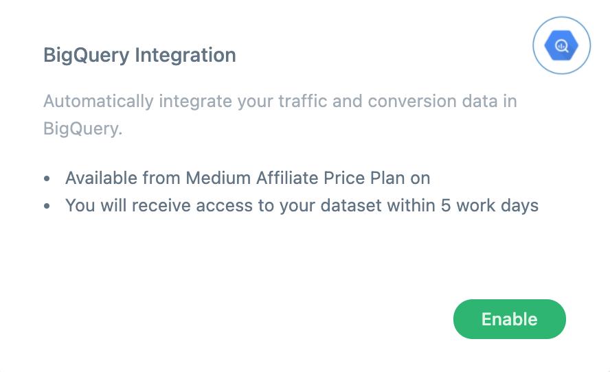 bigquery-integration-feature-activation
