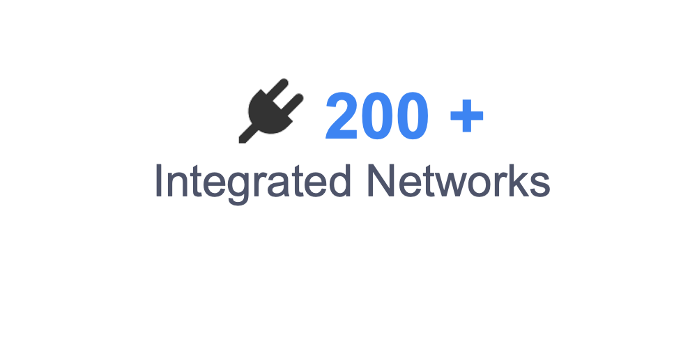 200+ Integrated Networks